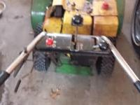 john deere snowblower 832 good runner ,all good. call