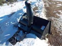 "42"" snowblower attachment for MTD tractor. For 18 horse"