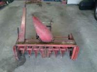 "Used 38"" snowblower attachment for Wheel Horse"