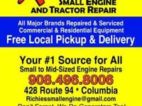 Richie's Small Engine and Tractor Repair 428 Route 94