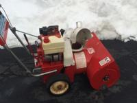 This is craftsman snowblower 5 hp 22 inch two-stage