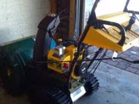 Like New snow blower for Sale! Yardman 9 HP with
