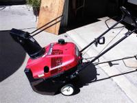 Honda Harmony HS520 Snow Blower with Manual. Design #