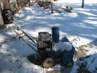 For sale - Snowblower - Husky 6 horse, 2 stage. In