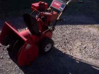 "NICE TORO SNOW BLOWER . THIS IS A 7HP WITH A 24"" WIDTH"