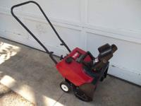 "Up for sale is a Toro Powerlite CCR 16"", 3.0HP"