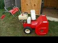 Snowblowers $100-$395 Most snow blower are electric