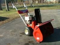 I have 3 Snapper snowblowers for sale. The first