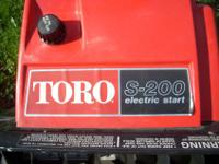IM HAVE SEVERAL NICE SNOWBLOWERS FOR SALE. I HAVE A