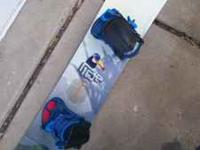 !40 cm. Ride Low Ride snowboard with bindings. Near new