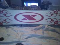 I am listing a dbx inferno 148 snowboard with burton
