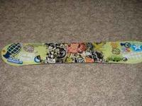 FORUM Youngblood Snowboard--137cm, 2 years old, Good