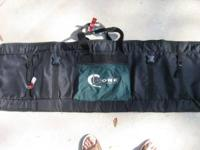 Core 60 inch snowboard bag. reinforced nylon with full