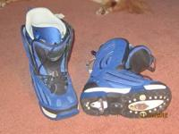 K2 snowboard boots. Mens size 10. Can be used with