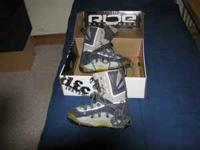 size 9 snowboarding boots, they are in pretty good