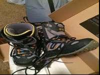 Snowboard boots (brand name 32) size 9. Only utilized a