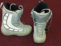 Snowboard boots, Northwave Royal womens size 9, used 4