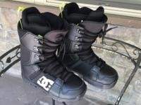 Snowboard Boots (DC Phase 2013 ) Men's size 11. Worn