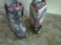 Salomon Snow board is used and so are the size 9 vans