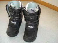 I have a very nice set of youth size 5 snowboard boots.