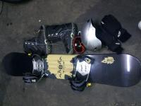 Vision 154 cm Snowboard and equipment used 3 times one