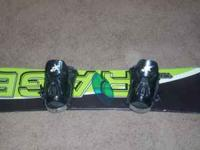 Rage snowboard - in great conditon with Ams bindings