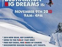 Big Dream Snow is hosting our holiday season super sale