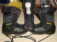 Snowboarding Boots - Burton size 7.5, Thirty Two - size
