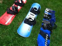 NICE SNOW BOARDS WITH BINDINGS AT HALF THE PRICE FROM