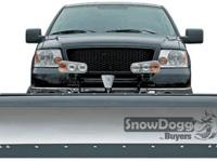 MD 75 Snow Dogg Straight Plow Fits 1/2 ton pickups.