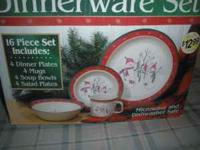 Set includes - Service for 12, Serving Bowls(2),