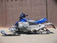 2008 Yamaha Phazer R-TX in Team Yamaha Blue with 1,623