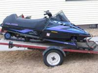 for sale 1994 polaris xlt 580 with helmet and new