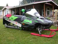 1. (2) 2004 Arctic Cat King Cat 900's, Titanium 162""