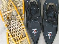 "Two sets of adult size snowshoes.......$50  ""Each"" set"