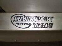 Meyer snowplow $600 OBO  Snowsport plow - brand new -