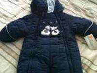 For Sale: BRAND NEW - 6-9 month snowsuit Made by Le