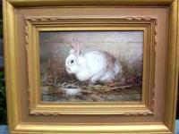ARTIST FRAMED GICLEE. BEAUTIFULLY DETAILED PAINTING IN