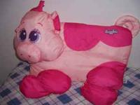I am selling a snugglers pink pig pillow pet. I am