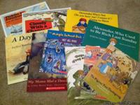 Lots and lots of children's books (About 40). Most are