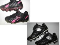 -LOTTO Soccer Cleats; black/silver; size 12: $10 *