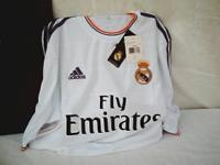 """Adidas Soccer Jersey, """"Fly Emirates"""" with """"Ronaldo"""" on"""