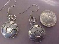 Hi, This is a great soccer gift. , Made with Pewter