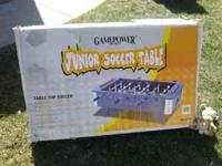 Soccer table-never used. Contact Michelle at  Location: