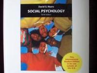 Social Psychology 10th Ed. Author: David G. Myers