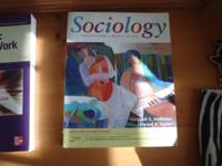 Sociology great condition ISBN: 978-0-4-9510236-6