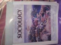 Essentials of Sociology Book Used for Sociology 1A Very