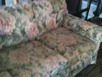 Sofa for sale. Needs to be reupholstered. Asking 100