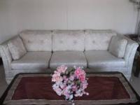 Clean sofa (no pets or smoking) Minor tear on the side
