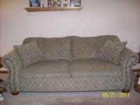 Very nice sofa. 6 years old. Multi-colored. Very good